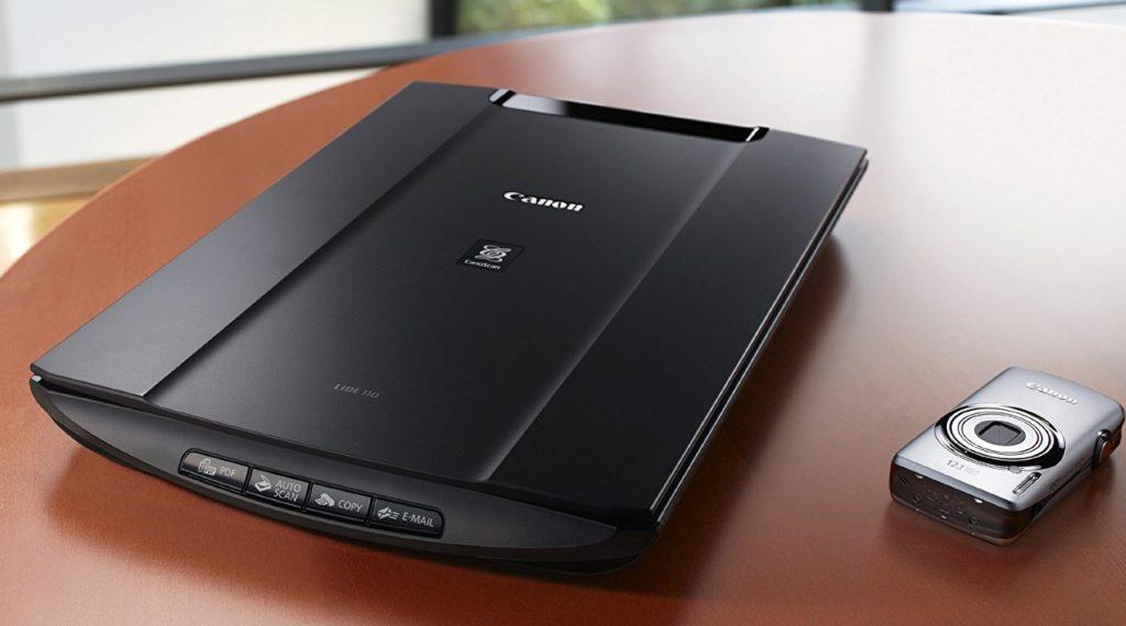 CanoScan LiDE 110 Scanner Treiber Installieren Download
